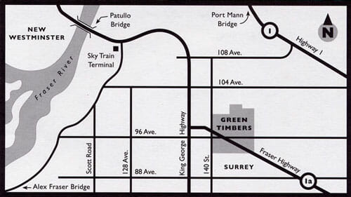 Green Timbers Map