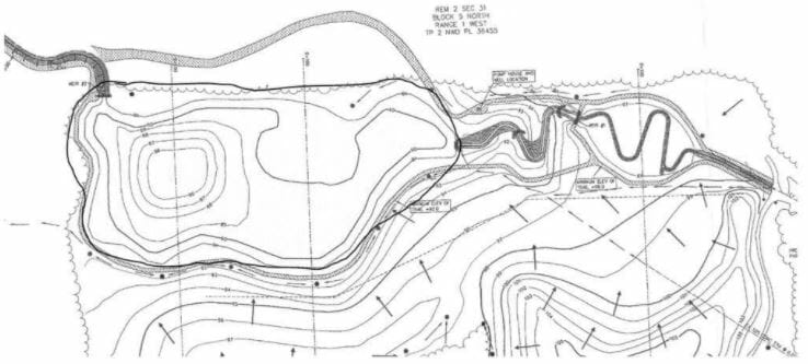 Green Timbers Lake schematic